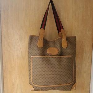 Authentic Vintage GUCCI Tote/Shoulder Bag.